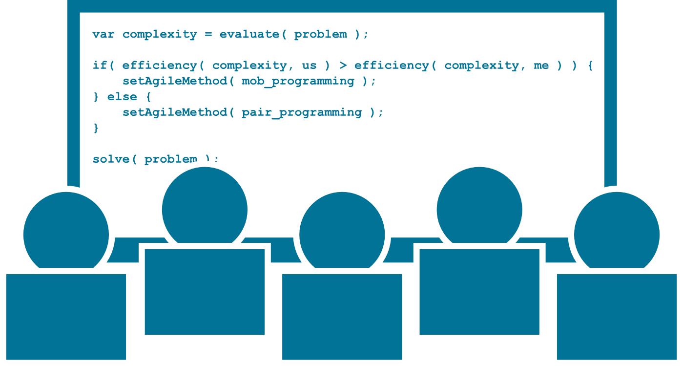 Mob Programming – Joukkokoodaus on tiimityötä aidoimmillaan